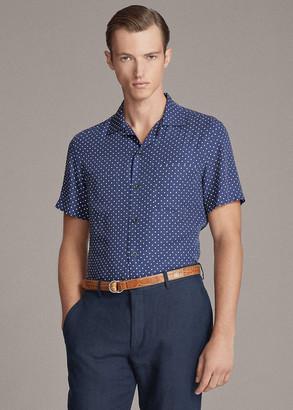 Ralph Lauren Polka-Dot-Print Shirt