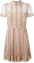 RED Valentino lace dress - women - Silk/Cotton/Polyester - 40