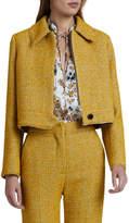 Victoria Victoria Beckham Cropped Boucle Jacket