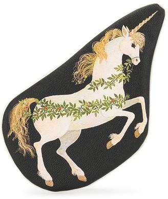 Undercover Unicorn-Print Zipped Pouch
