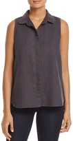 NYDJ Sleeveless Button Back Top