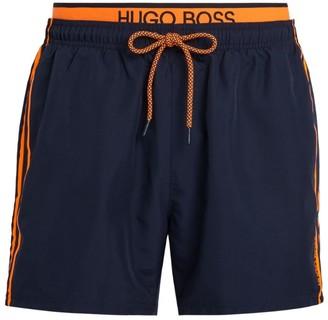BOSS Double Waistband Swim Shorts