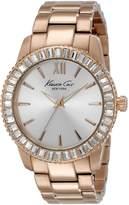 Kenneth Cole New York Women's KC4991 Classic Analog Display Japanese Quartz Rose Watch