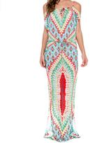 Luli Fama Island Dress In Multicolor (L510857)