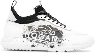 Hogan HXM3710CM90NFH808X BLANCA LEATHER/NYLON/RUBBER