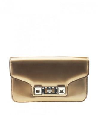 Proenza Schouler Gold Patent leather Handbags