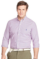 Polo Ralph Lauren Big & Tall Checked Cotton Poplin Shirt