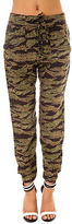 Obey The Keegan Harem Pant in Tiger Camo