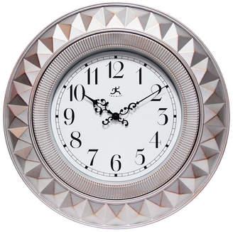 Infinity Instruments Round Decorative Wall Clock