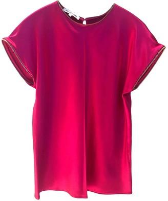 Helmut Lang Pink Silk Top for Women