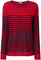 P.A.R.O.S.H. striped sweatshirt - women - Cashmere - XS