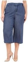 NYDJ Plus Size Plus Size Denim Culotte Pants in Denim