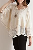 Entro Fall Poncho Top