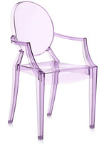 Kartell Loulou Ghost Children's Chair - Violet