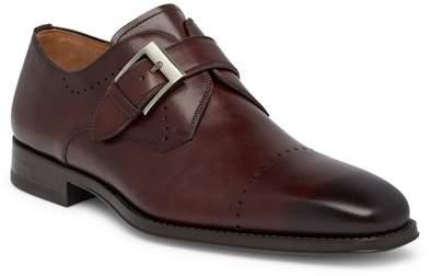 Magnanni Carey Leather Monk Loafer