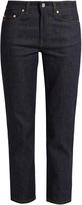 Acne Studios Row straight-leg cropped jeans