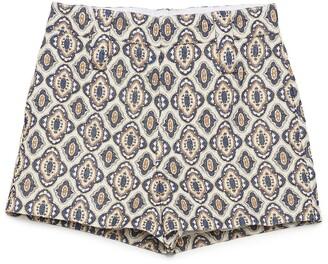 Prada Motif Patterned Shorts