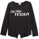 Ten Sixty Sherman Oh Hey It&s Friday Top (Big Girls)