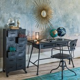 Graham and Green Iron Cabinet With Twelve Drawers