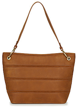 Nat & Nin CALLIE women's Shoulder Bag in Brown