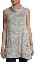 BB Dakota Mockneck Knit Tunic Top