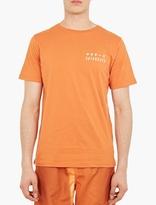 Saturdays Surf NYC Orange Cotton Logo T-Shirt