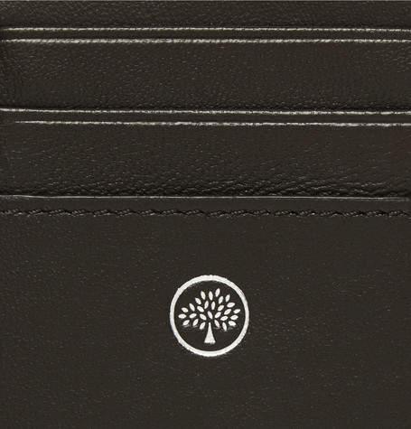Mulberry Full-Grain Leather Billfold Cardholder