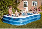 Bestway Blue Rectangular Family Pool