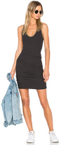 James Perse V Neck Dress in Black. - size 3 (M/L) (also in )