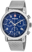 Wenger Classic 01.1043.101 Men's Stainless Steel Chronograph Watch