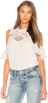 Heartloom Chloe Top in White. - size L (also in M,S,XS)
