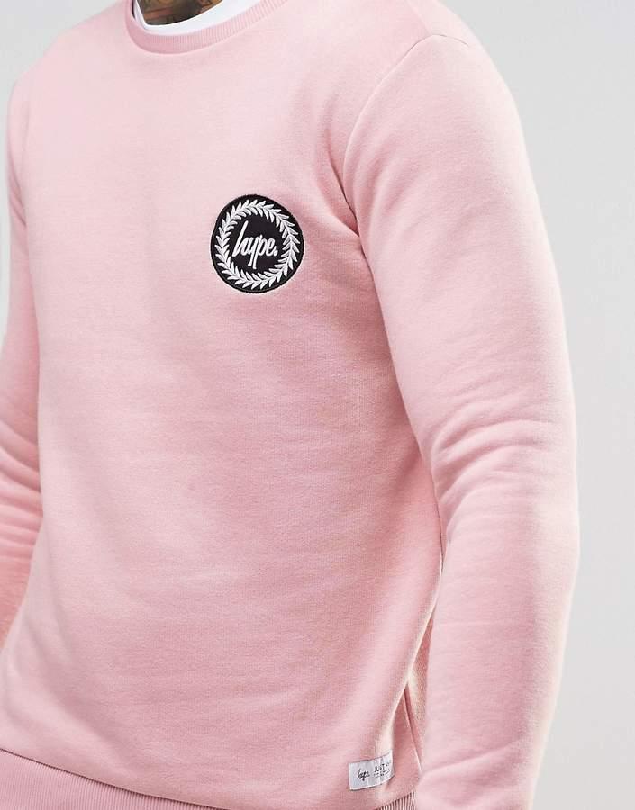 Hype Sweatshirt With Crest Logo