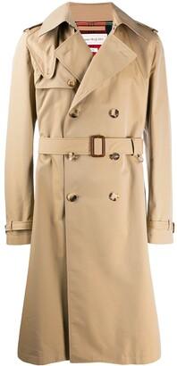 Alexander McQueen Hybrid trench coat