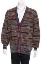 Missoni Wool Intarsia Cardigan