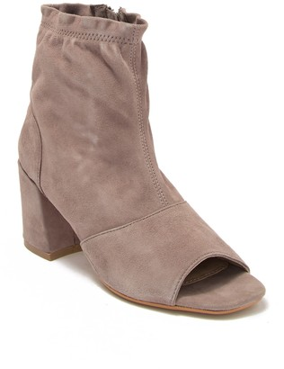 Rebels Goldie Suede Peep Toe Bootie