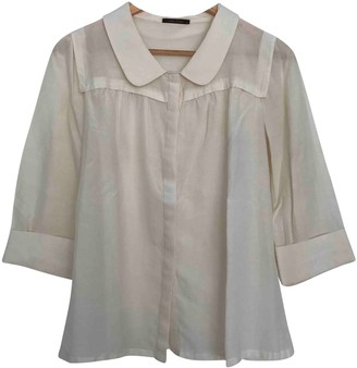 BEIGE Bimba Y Lola Cotton Top for Women