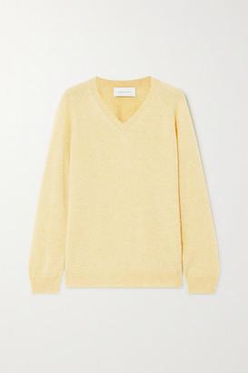 ALEXANDRA GOLOVANOFF Catherine Cashmere Sweater - Yellow