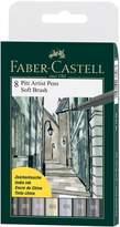 Faber-Castell Pitt Artists Pen Set 8 Shades Of Wallet