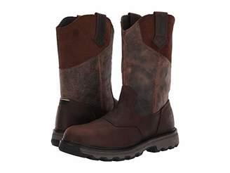 Caterpillar Leeward Soft Toe (Classic Brown Full Grain Leather) Men's Work Boots