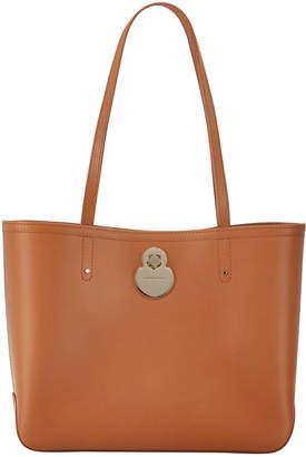 Longchamp Cavalcade Leather Shoulder Tote Bag