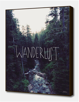 Wanderlust Curioos Rainier Creek