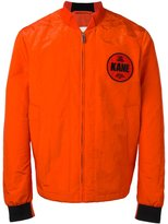Christopher Kane law and order bomber - men - Polyamide/Polyester/Polyurethane - 46