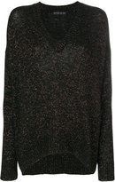 Etro V-neck Temba jumper - women - Polyamide/Viscose/Wool/Metallic Fibre - 42