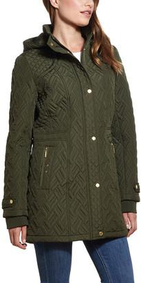 Weatherproof Women's Anoraks & Parkas EVERGLADE - Everglade Walker Hooded Quilted Jacket - Women