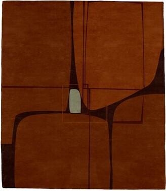 Key Stone Brayden Studio Keystone Hand-Tufted Wool Brown Area Rug Brayden Studio Rug Size: Rectangle 5' x 8'
