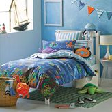 Hiccups Kids Deep Blue Sea Quilt Cover Set, Double