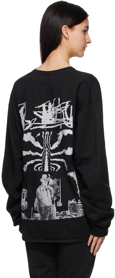 Thumbnail for your product : Rhude Black Haus Long Sleeve T-Shirt