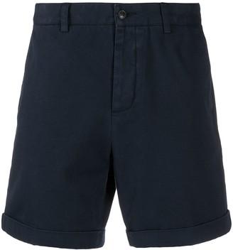 AMI Paris Turn-Up Hem Chino Shorts