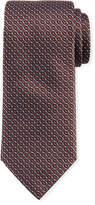 Brioni Rectangle Design Silk Tie