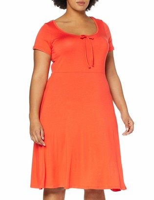 Dorothy Perkins Curve Women's Scoop Back Jersey MIDI Dress